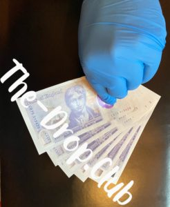 %Litho Printing Technique%Fake Counterfeit Pound Notes
